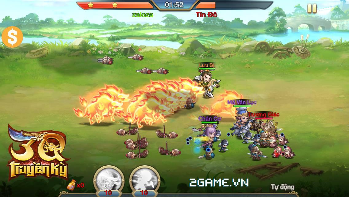 3Q Truyền Kỳ được VTC Mobile phát hành tại Việt Nam 5