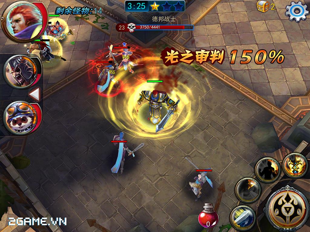 Anh Hùng Chi Lộ có đồ họa bắt mắt, lối chơi tương đối kịch tính 0