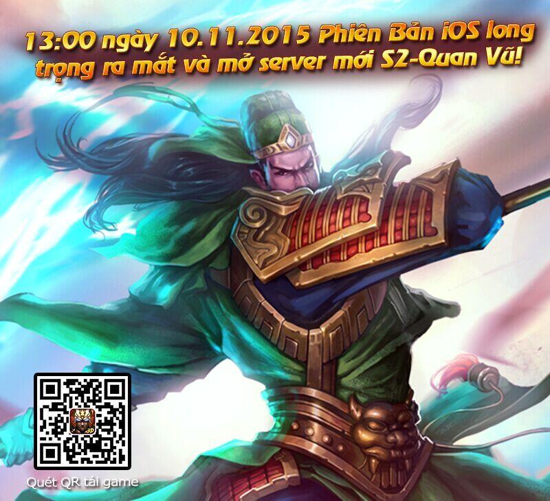 Tặng 225 giftcode Vô Song Thần Tướng 1