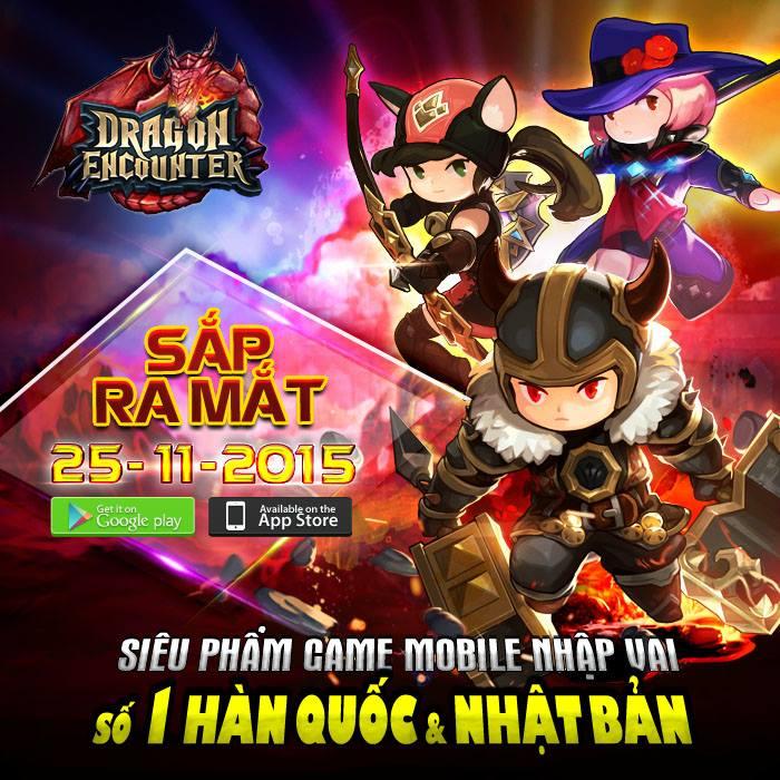 Dragon Encounter bản Việt hóa định ngày ra mắt 0