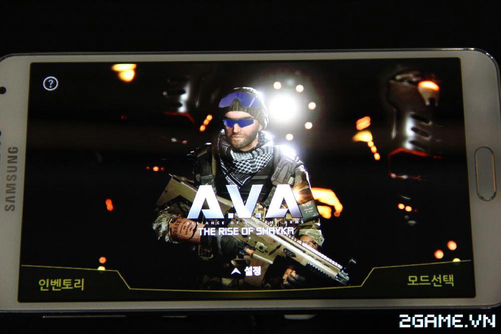 Cận cảnh game bắn súng A.V.A bản mobile cực mới 0
