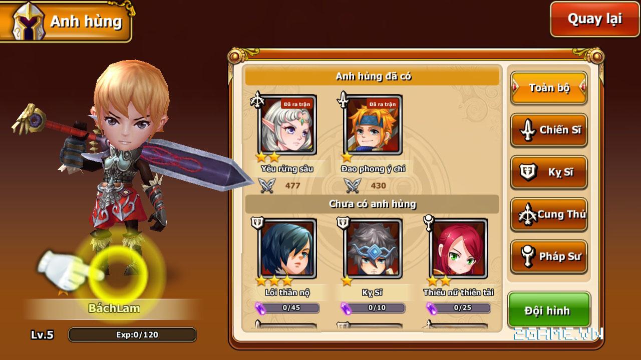 Endless Saga VN có hình ảnh dễ thương, lối chơi chiến thuật cực chất 10