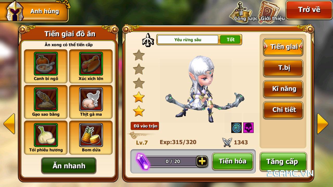 Endless Saga VN có hình ảnh dễ thương, lối chơi chiến thuật cực chất 14