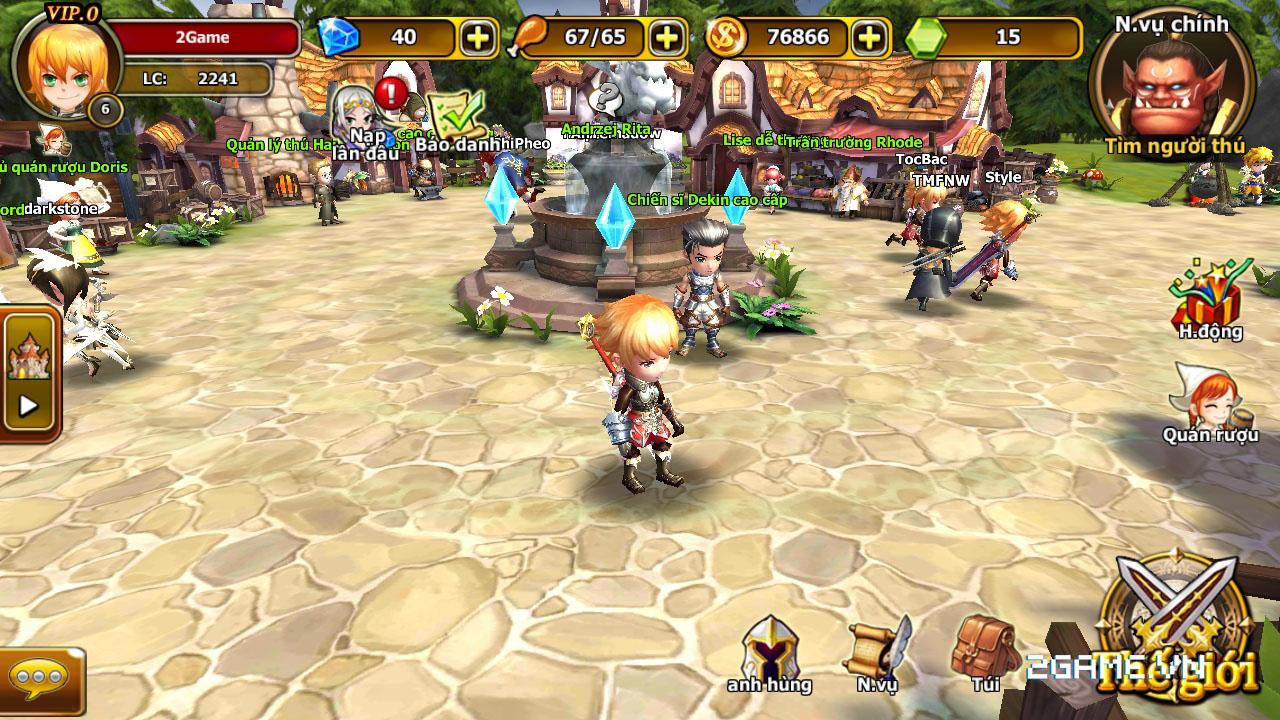 Endless Saga VN có hình ảnh dễ thương, lối chơi chiến thuật cực chất 6