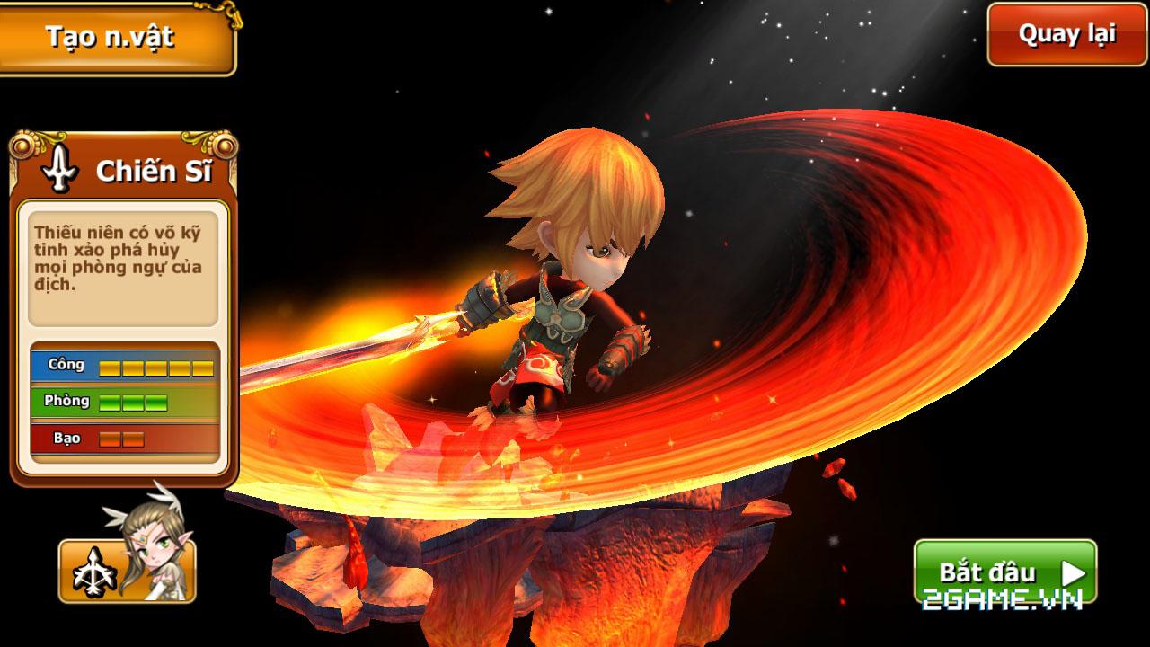 Endless Saga VN có hình ảnh dễ thương, lối chơi chiến thuật cực chất 1