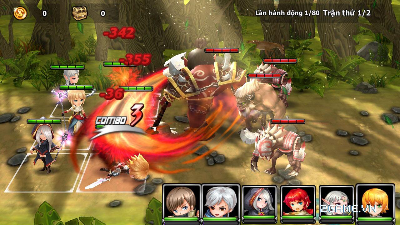 Endless Saga VN có hình ảnh dễ thương, lối chơi chiến thuật cực chất 2