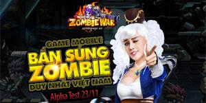 Chơi Zombie War thấy ghê ghê song vui cũng không kém
