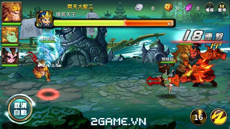 Thần Tiên Đạo sở hữu lối chơi nhập vai kết hợp chiến thuật độc đáo 9