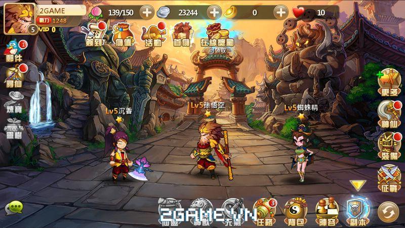 Thần Tiên Đạo sở hữu lối chơi nhập vai kết hợp chiến thuật độc đáo 6