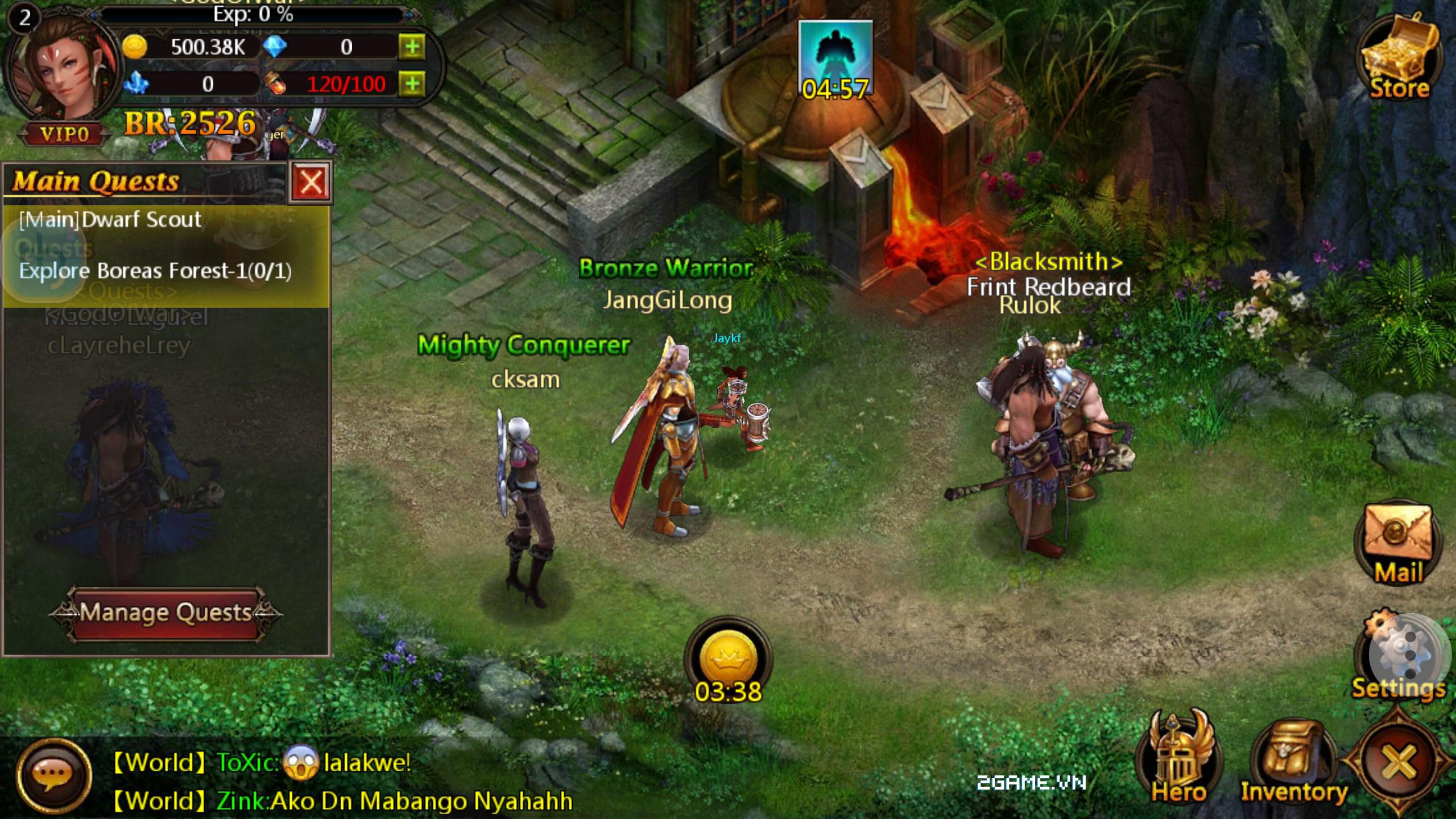 Huyền Thoại Heroes III mobile cập bến Việt Nam 3