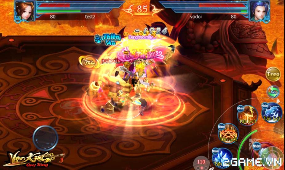 Vạn Kiếm Quy Tông ra mắt trang chủ, định ngày mở game 1