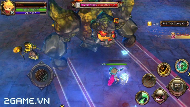 2Game đặt chân vào Dragon Encounter bản Việt hóa 2