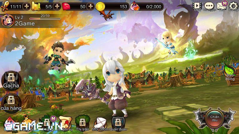 2Game đặt chân vào Dragon Encounter bản Việt hóa 3