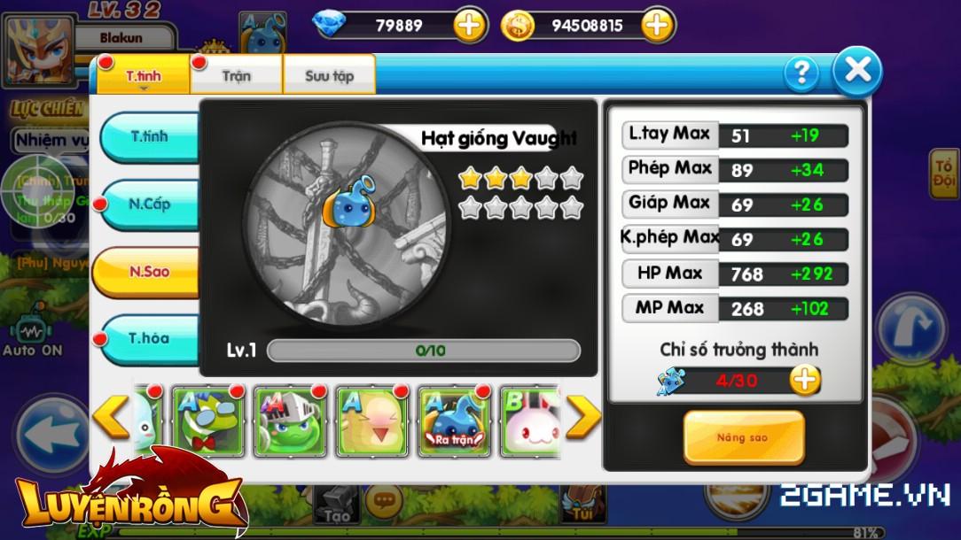 Tìm hiểu hệ thống pet trong Luyện Rồng mobile 6