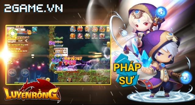 Luyện Rồng mobile tiết lộ ưu nhược về 3 lớp nhân vật 1