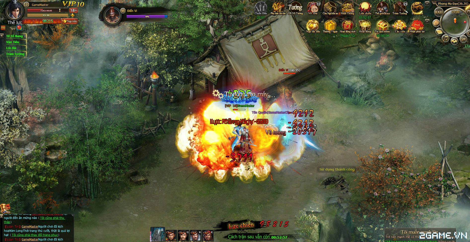 VTC Game định ngày ra mắt Tam Quốc Truyền Kỳ nhập vai 1