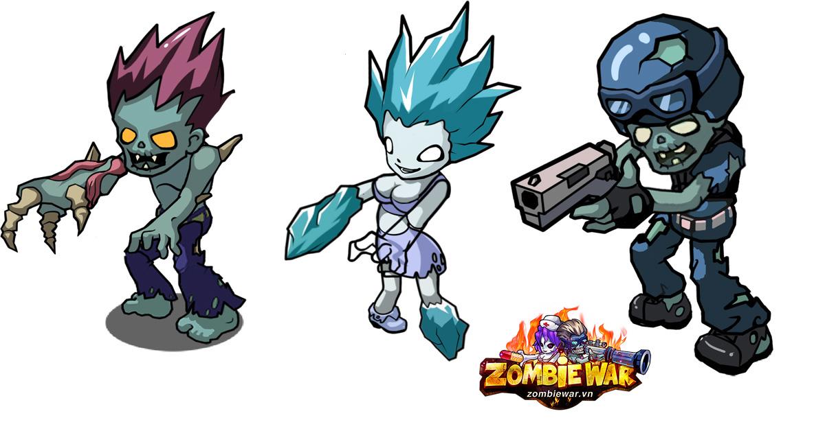 Zombie War show hàng hệ thống súng ống, pet đầy cute 3