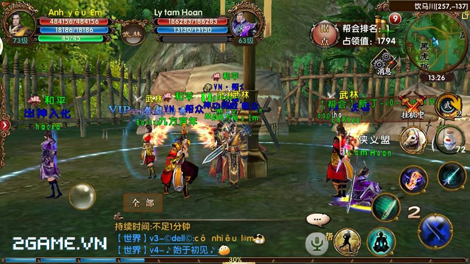 Ngọa Hổ Tàng Long mobile được VTC Mobile phát hành tại Việt Nam 2