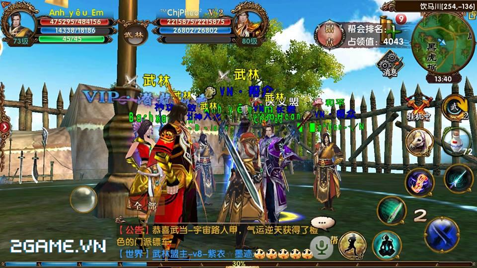 VTC Mobile công bố link tải game Ngọa Hổ Tàng Long 3