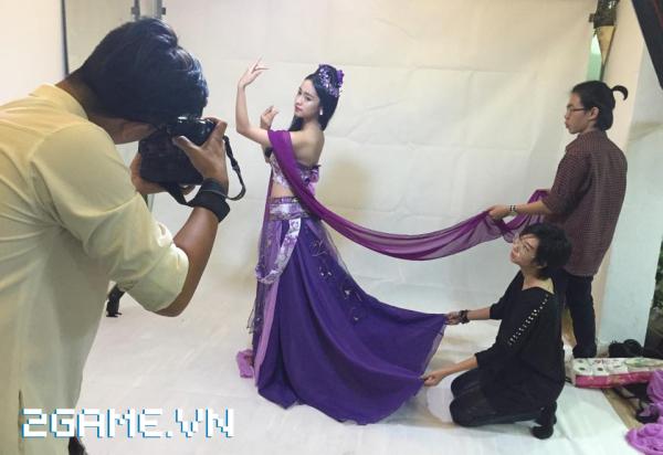 'Cô gái tai tiếng' Thúy Vi tham gia cosplay game Hoa Thiên Cốt 3
