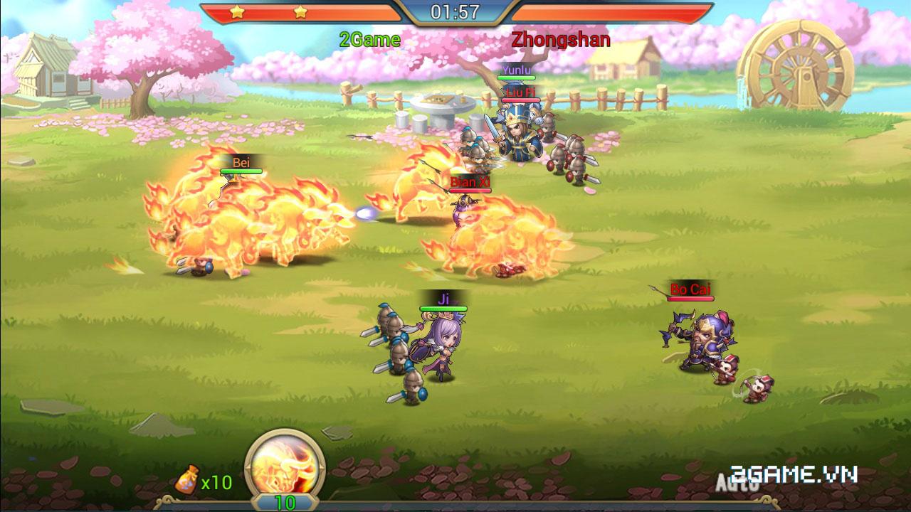 3Q Truyền Kỳ tăng tính chiến thuật bằng số tướng và ô xếp trận hình 2