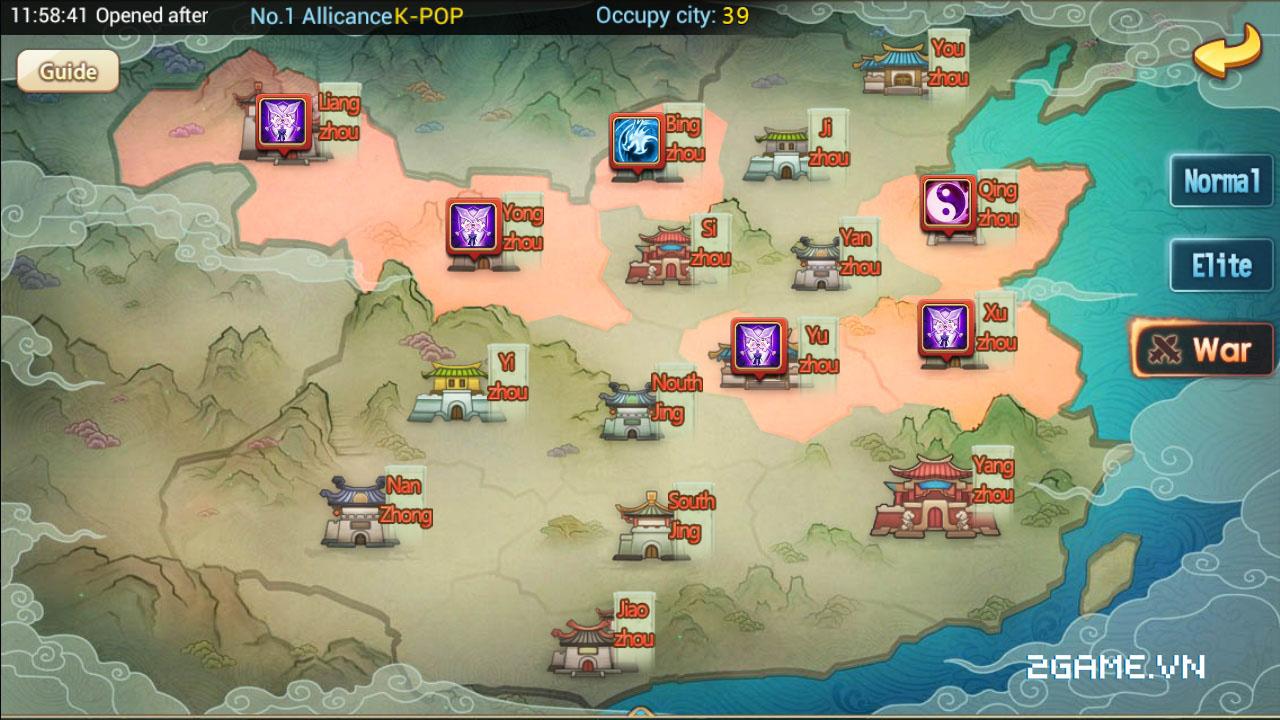 3Q Truyền Kỳ tăng tính chiến thuật bằng số tướng và ô xếp trận hình 5