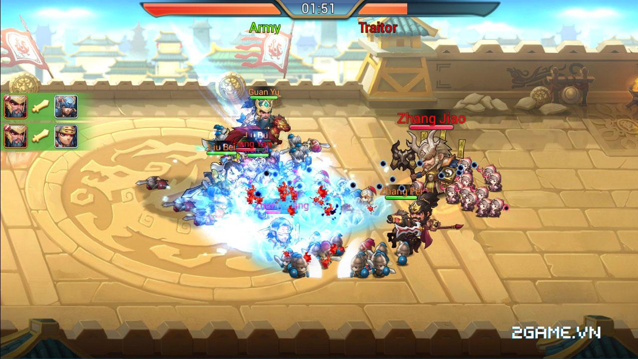 3Q Truyền Kỳ tăng tính chiến thuật bằng số tướng và ô xếp trận hình 7