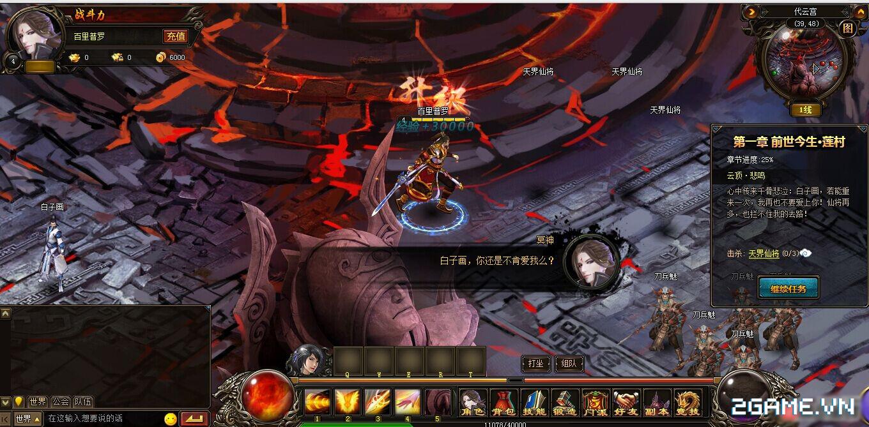 Webgame Hoa Thiên Cốt đã Việt hóa xong 2