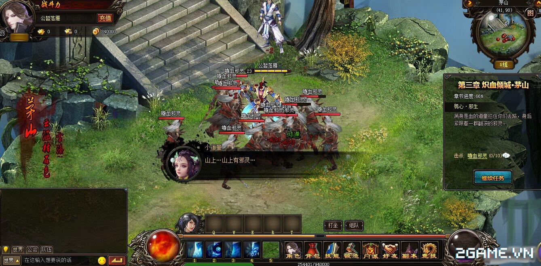 Webgame Hoa Thiên Cốt đã Việt hóa xong 4