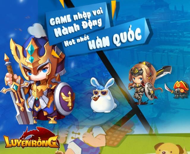 Game Luyện Rồng ra mắt trang chủ, định ngày mở game 0