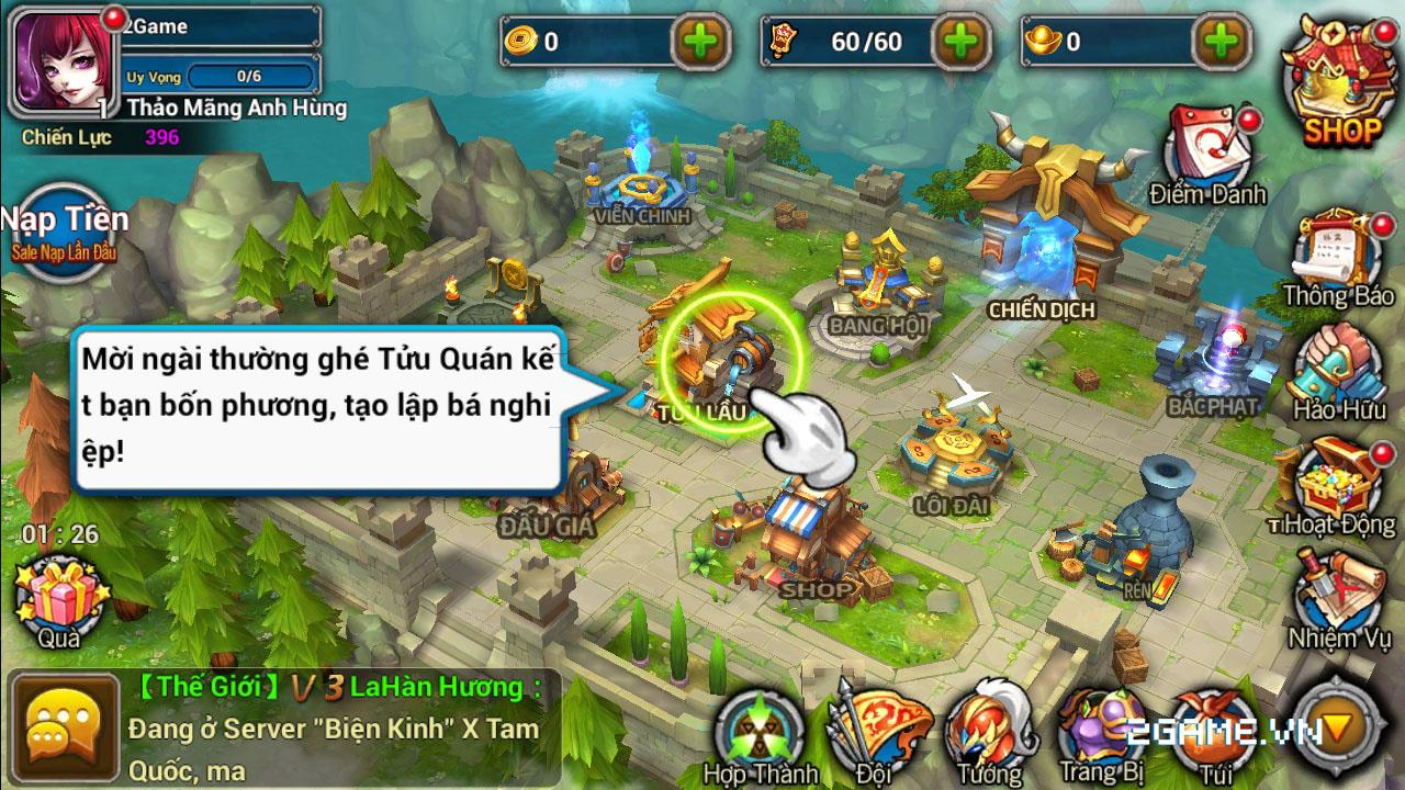 Game thủ Việt yêu đồ họa và lối chơi của X Tam Quốc 0