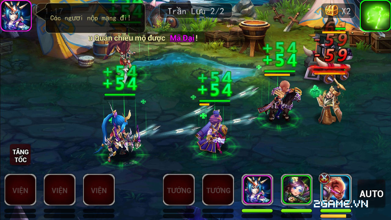 Game thủ Việt yêu đồ họa và lối chơi của X Tam Quốc 2
