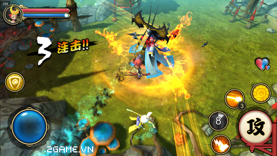 Yêu Du Ký 3D có hình ảnh phong cách Nhật, lối chơi Pk tự do 1