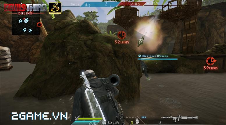 Game dành cho người chán game tàu: Devil's Third Online 1
