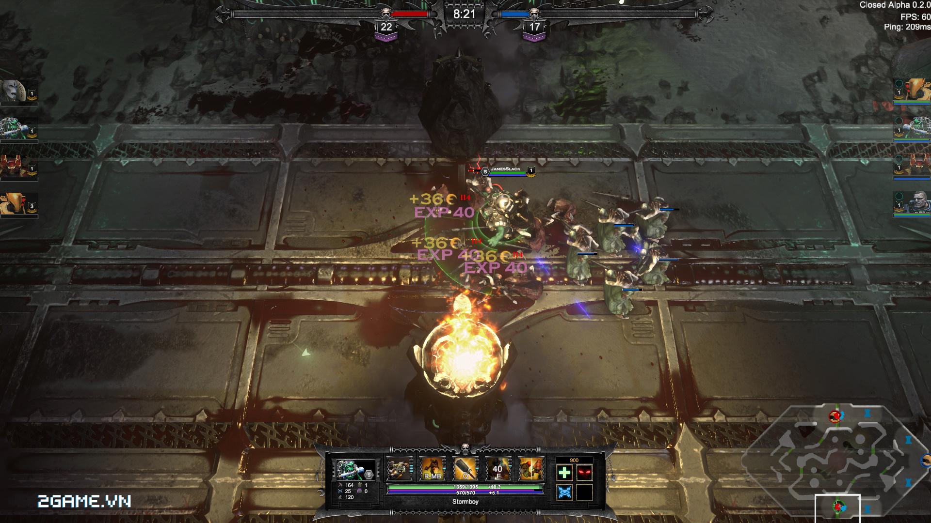 Game dành cho người chán game tàu: Warhammer - Dark Nexus Arena 2