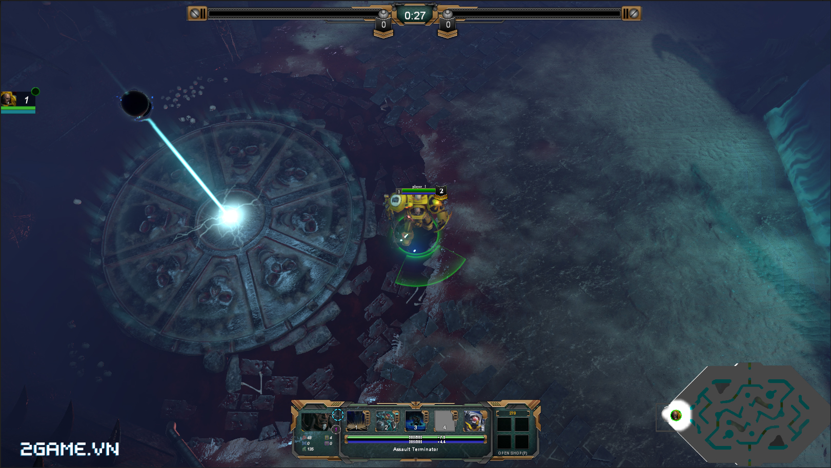 Game dành cho người chán game tàu: Warhammer - Dark Nexus Arena 1