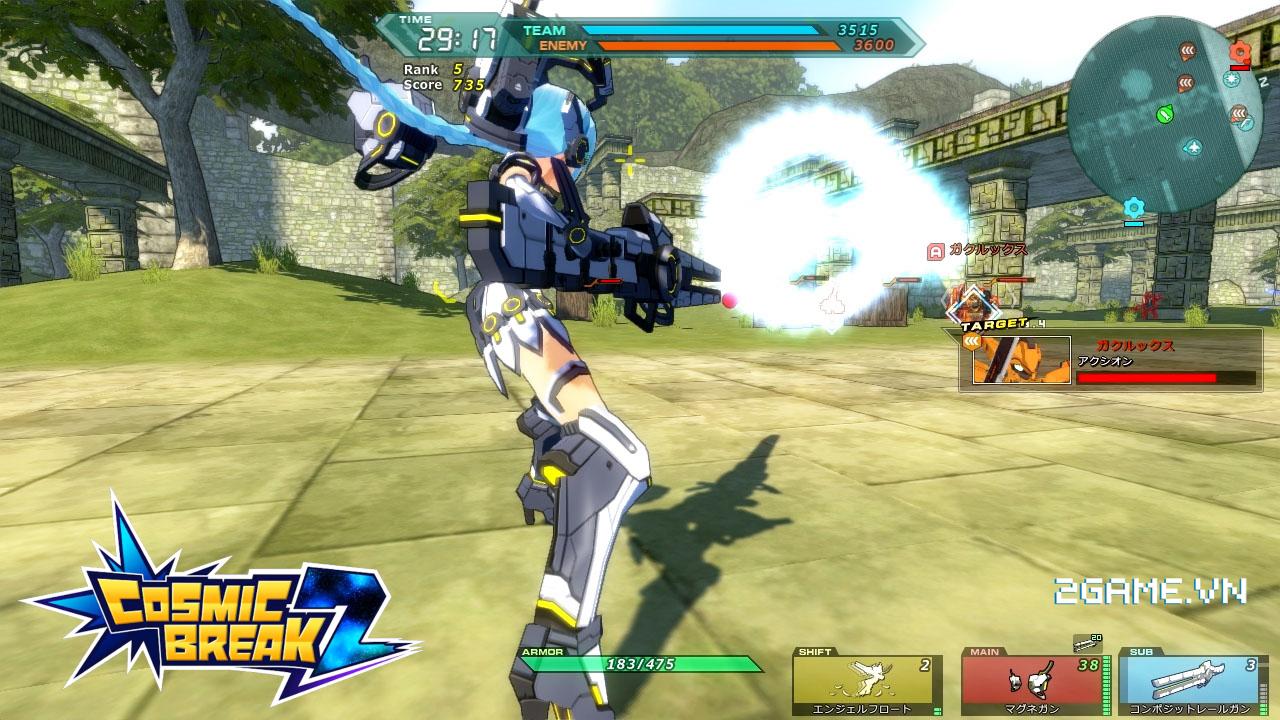 Game dành cho người chán game tàu: Cosmic League 2