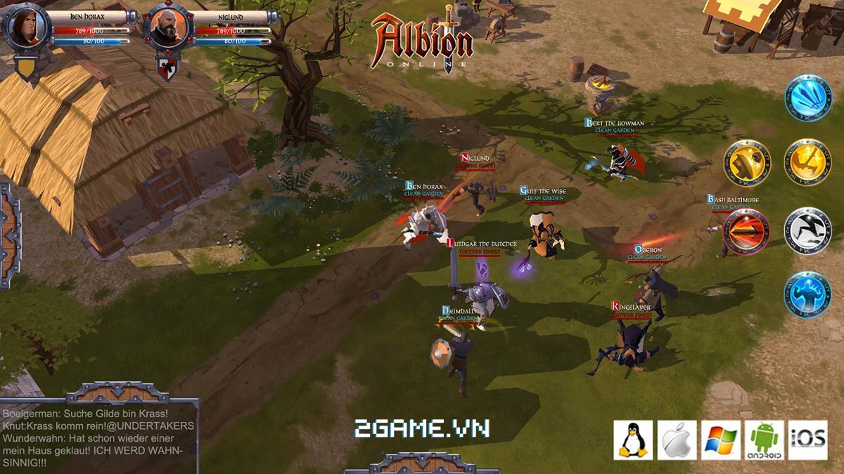Game dành cho người chán game tàu: Albion Online 0