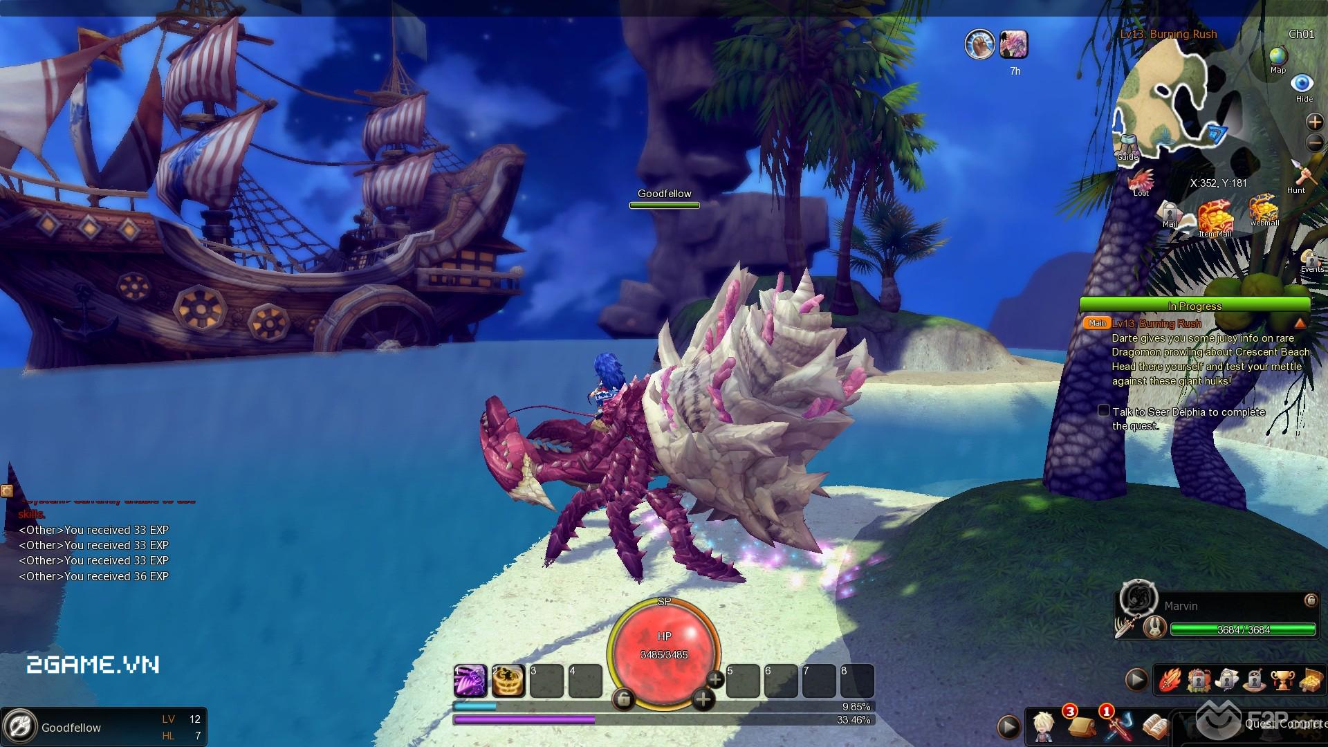 Game dành cho người chán game tàu: Dragomon Hunter 0