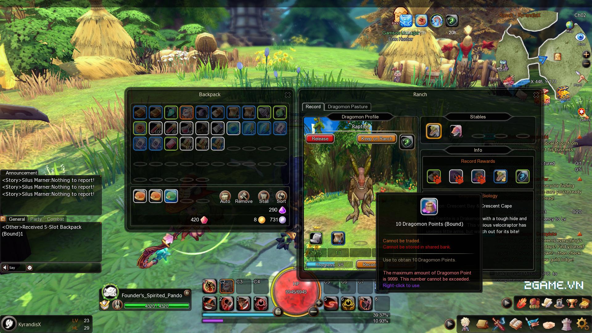 Game dành cho người chán game tàu: Dragomon Hunter 3