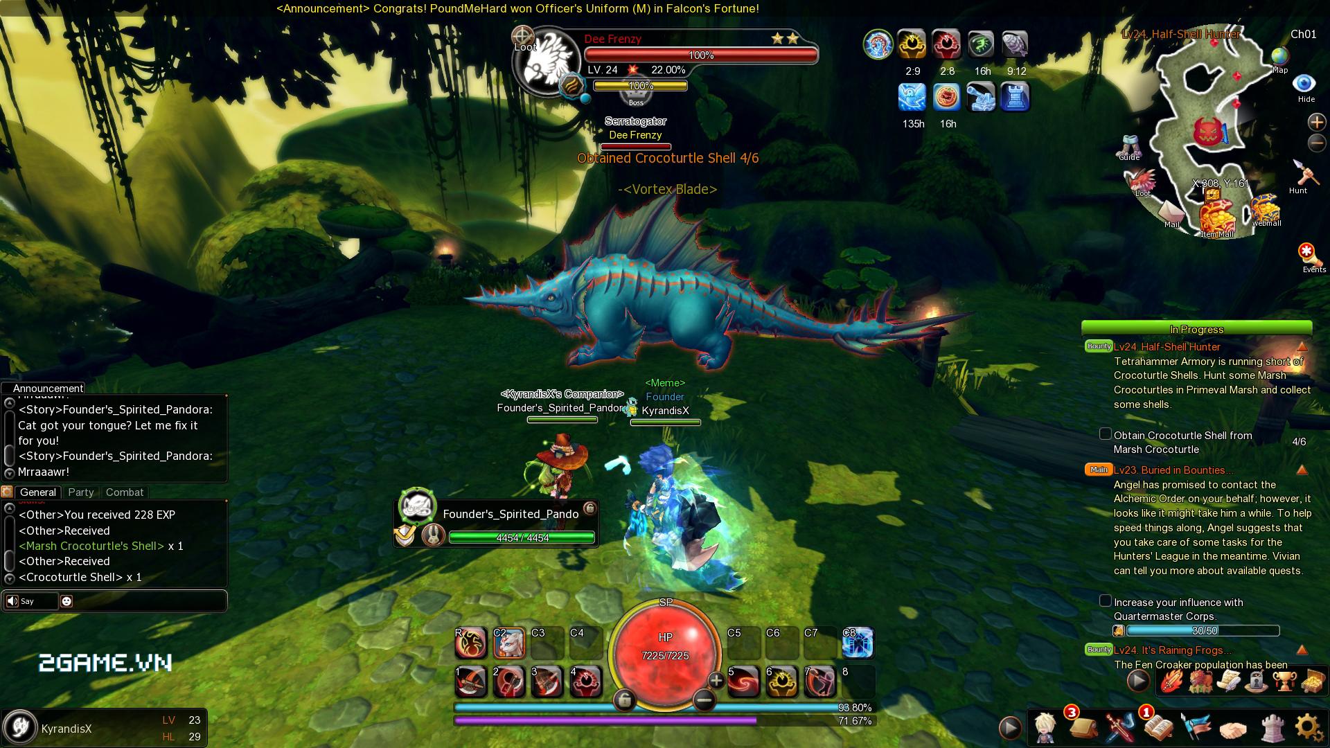 Game dành cho người chán game tàu: Dragomon Hunter 4