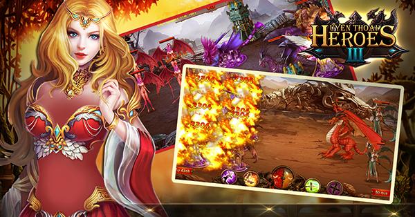 Huyền Thoại Heroes III định ngày mở cửa 0