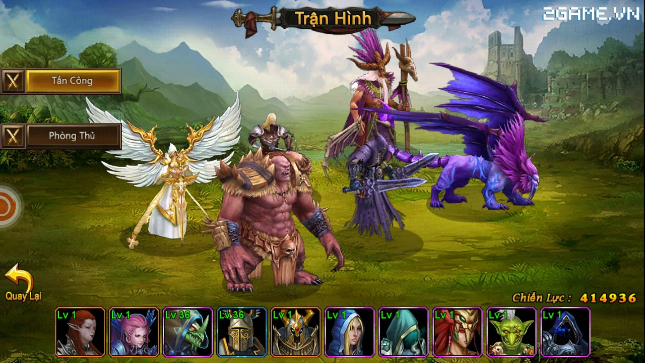 Cận cảnh Huyền Thoại Heroes III bản Việt hóa (Clip HD) 3