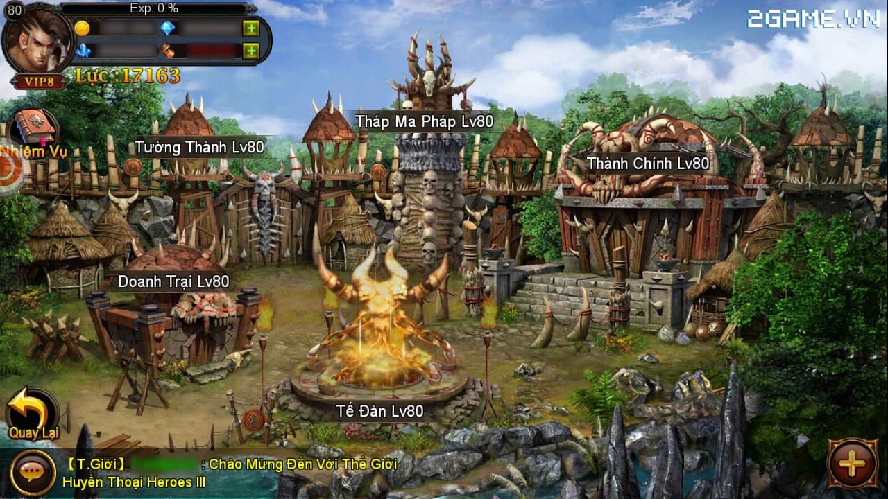 Cận cảnh Huyền Thoại Heroes III bản Việt hóa (Clip HD) 1