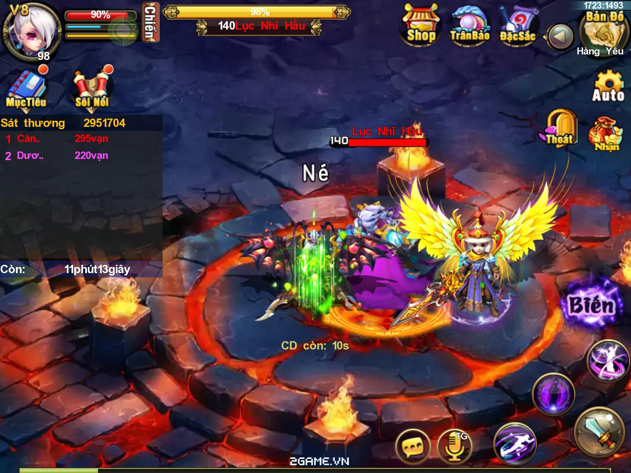 Đại Thánh Vương đã cho game thủ tải game 0