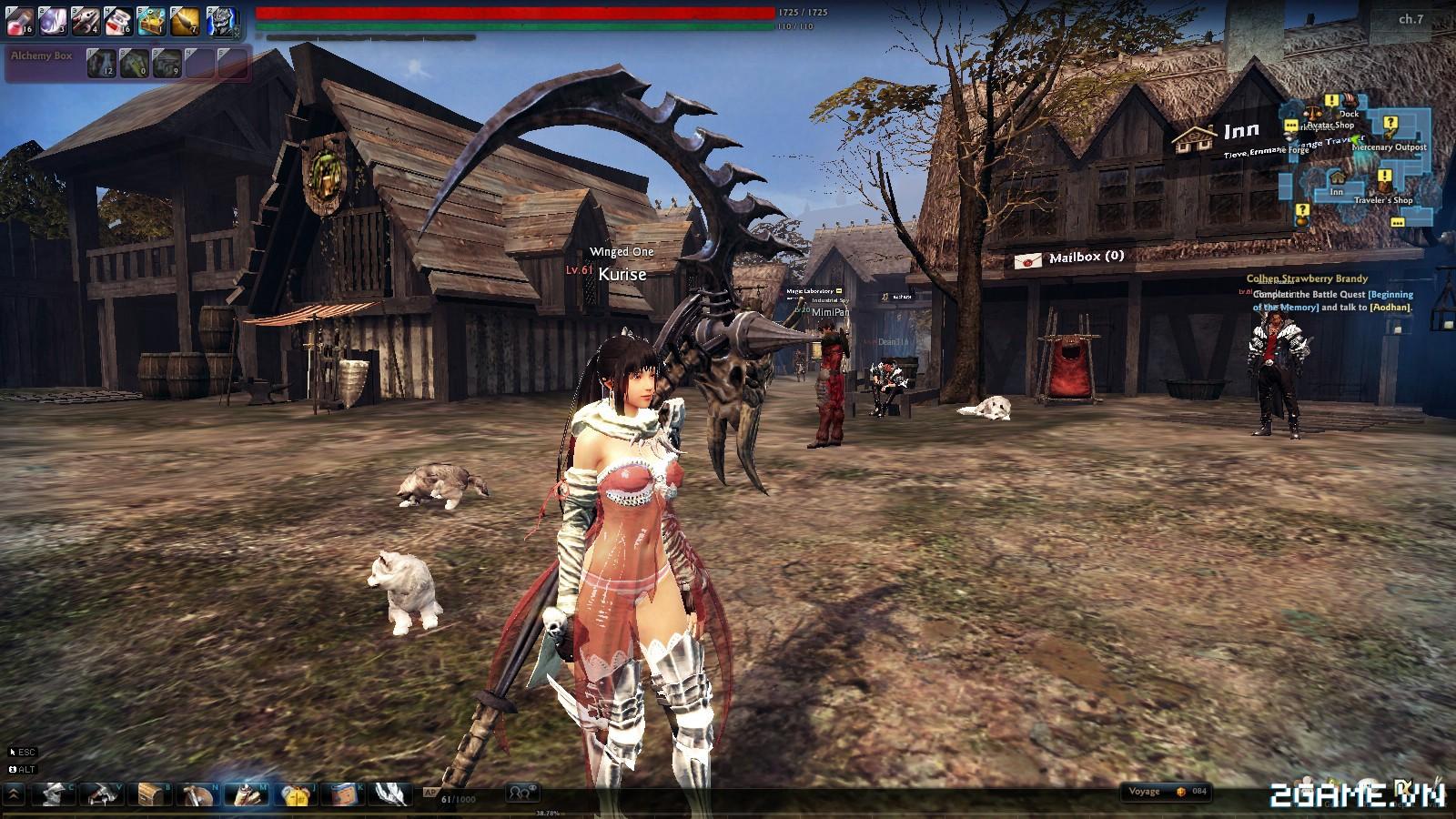 Garena ra mắt game 18+ Vindictus 1