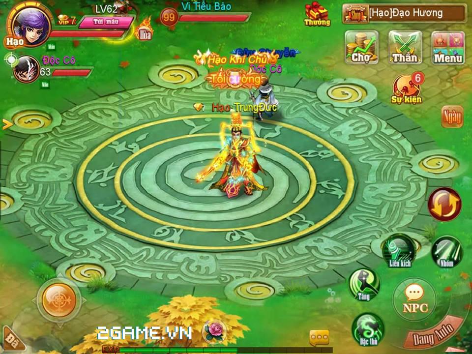 2Game thấy Họa Giang Hồ giống hệt game cũ Cửu Dương Thần Công mobile 0