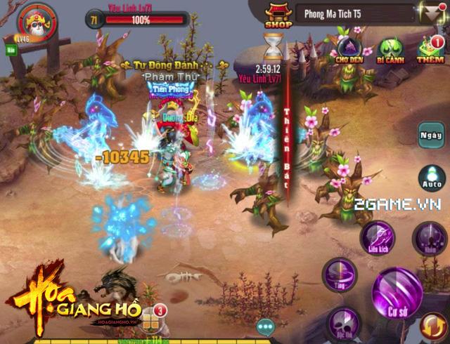2Game thấy Họa Giang Hồ giống hệt game cũ Cửu Dương Thần Công mobile 1