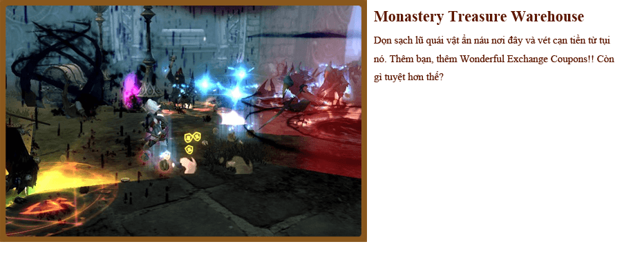 Các hoạt động vui nhộn trong Dragon Nest 3