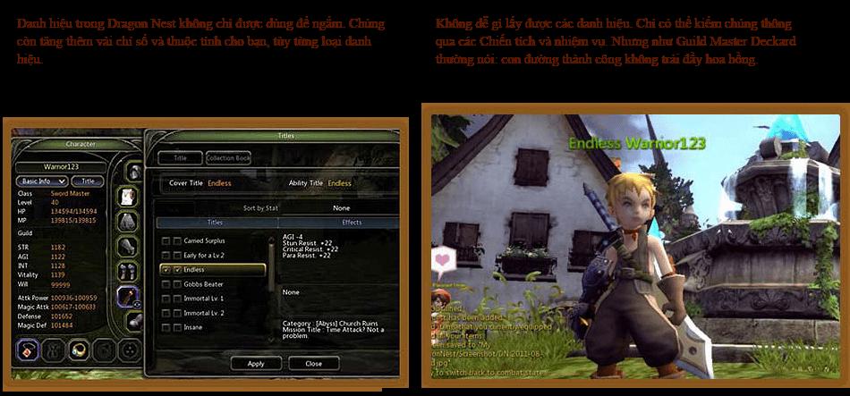 Các hoạt động vui nhộn trong Dragon Nest 5